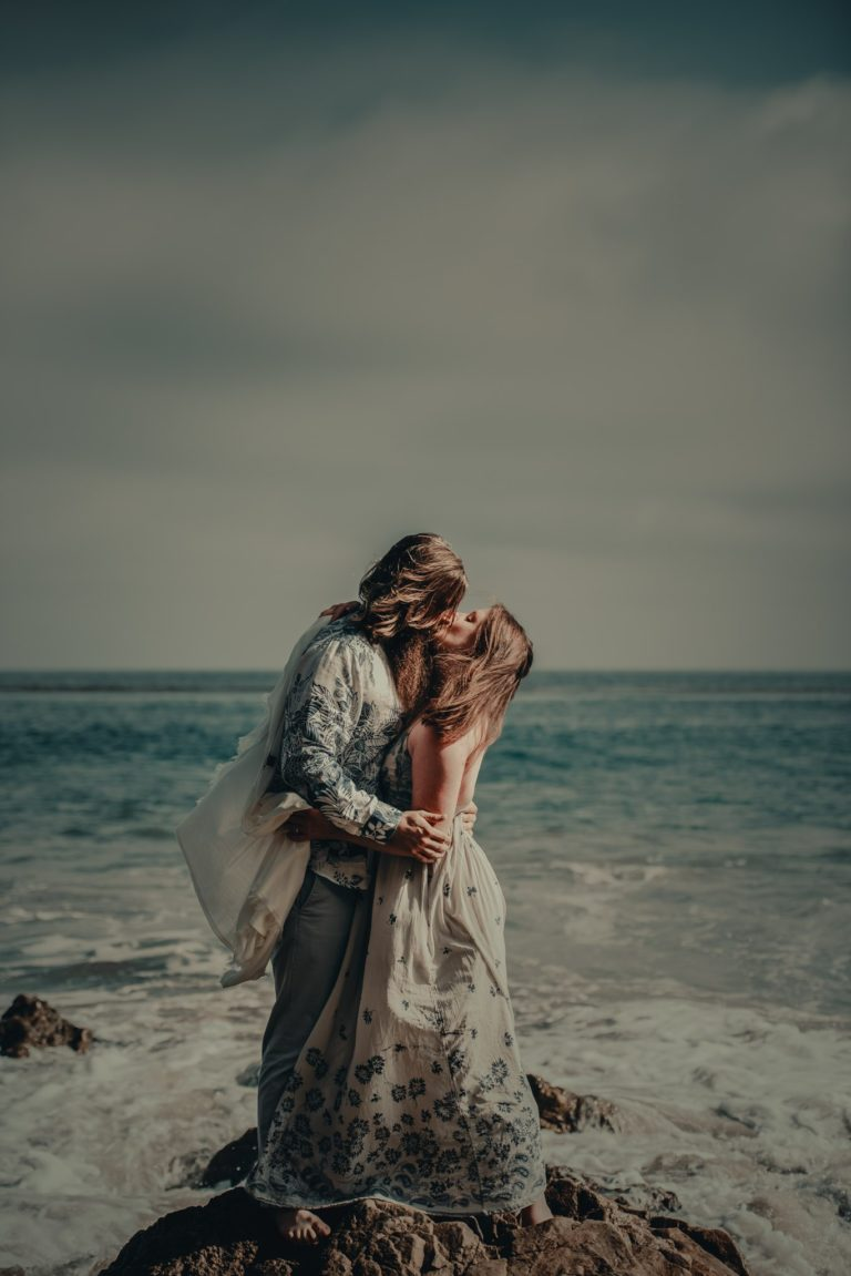 Engagement Session on Matador Beach by Benjamin Edwards