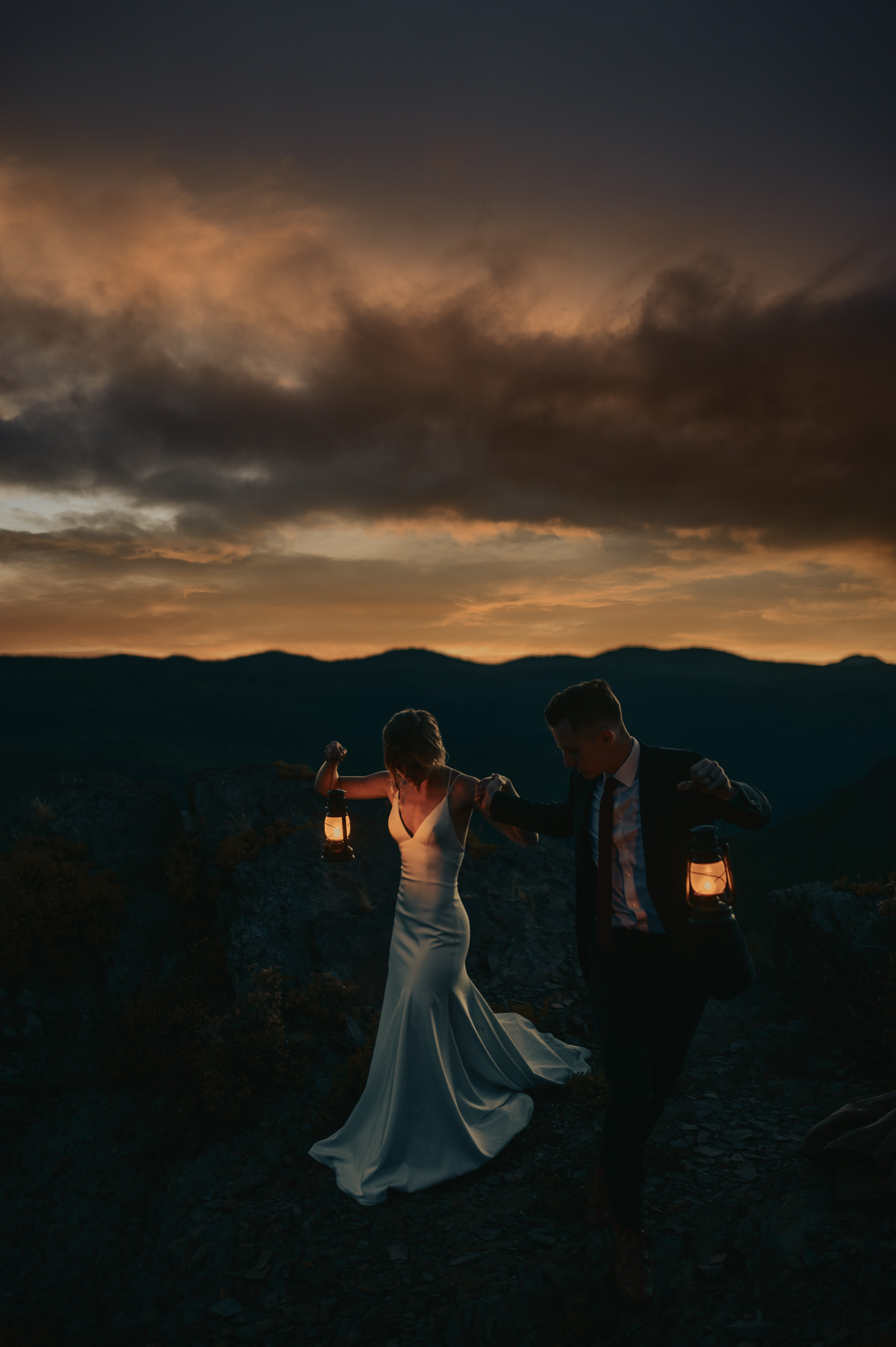Mountain Elopement In Oregon