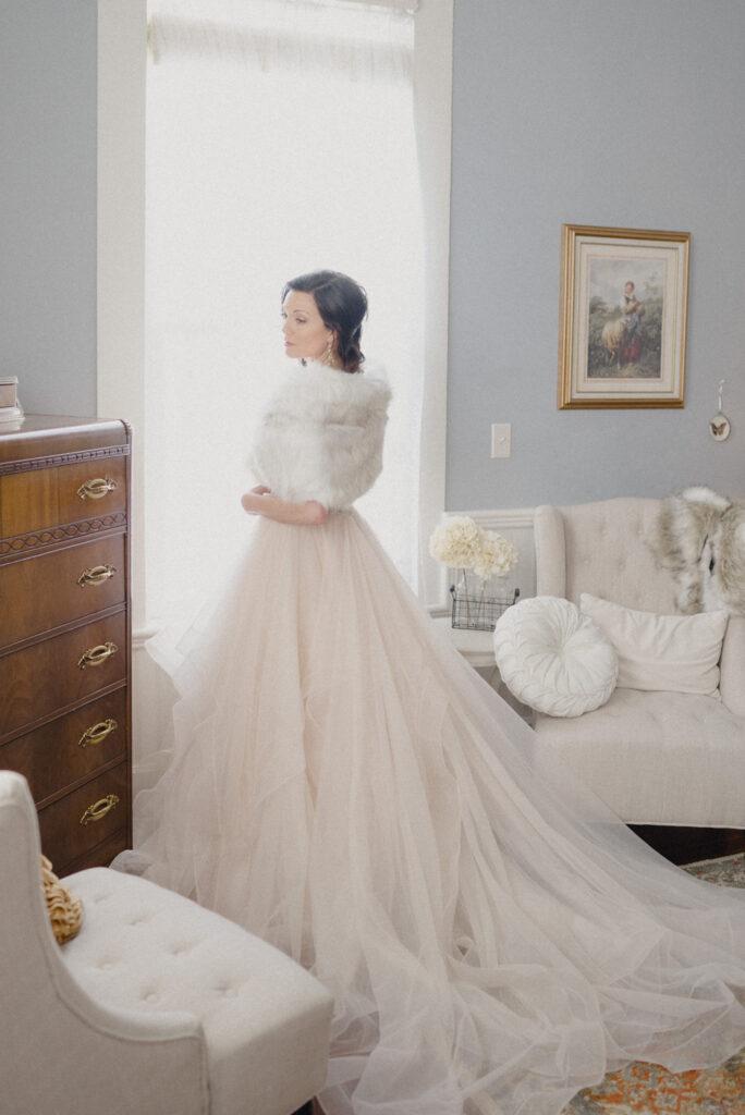Oregon wedding bridal portrait