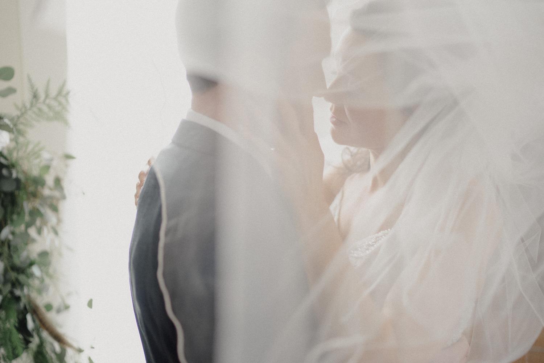 light wedding photography